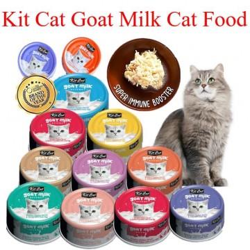 Kit Cat Goat Milk Cat Food 85g