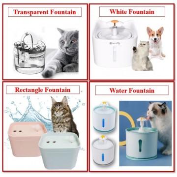 [ Variety]  Pet Water Fountain Water Feeder Water Dispenser