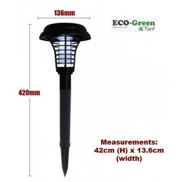 2-in-1 Anti Mosquito Outdoor Garden Solar Light Stake