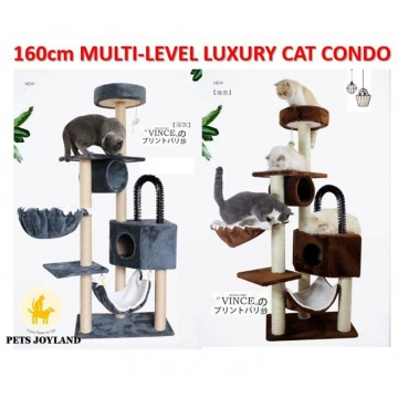 1.6m Multi-Level Cat Condo Tree