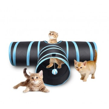Cat Tunnel T-shape Collapsible