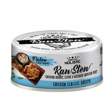 Absolute Holistic Rawstew Chicken Classic Wet Food for Dogs & Cats 80g