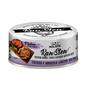 Absolute Holistic Rawstew Chicken & Lobster Wet Food for Dogs & Cats 80g