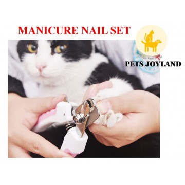 Manicure Set Grooming Nail Clipper for pets