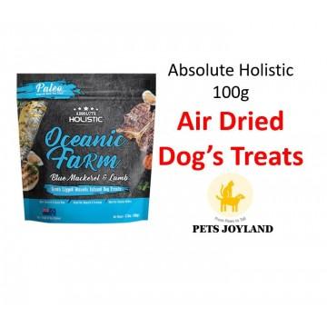 Absolute Holistic Air Dried Oceanic Farm Dog Treats (100g)
