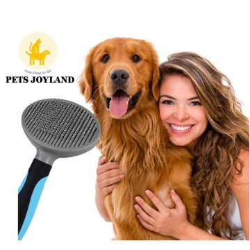 Retractable De-shedding Comb for Cats Dogs and other small animals