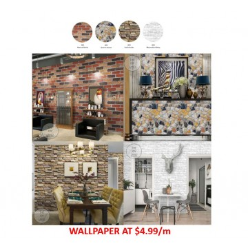 Wallpaper Self-Adhesive Home Series
