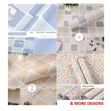 Wallpaper Self Adhesive Bathroom Kitchen Series