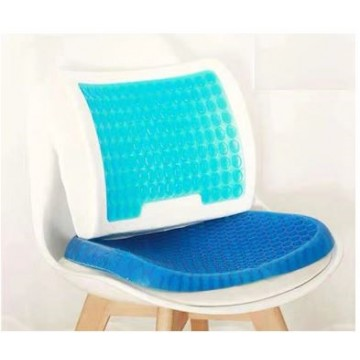 Pressure Absorption Gel Cushion  Egg Sitter Cushion) and Gel Back Support