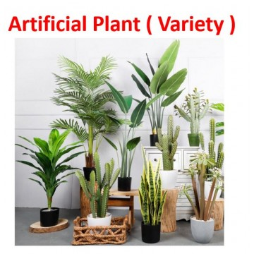 [ Plant 56-68]  Large Artificial Plant/Tree/Flower For Home Decor