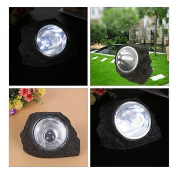 Solar Powered Garden Rock Lights