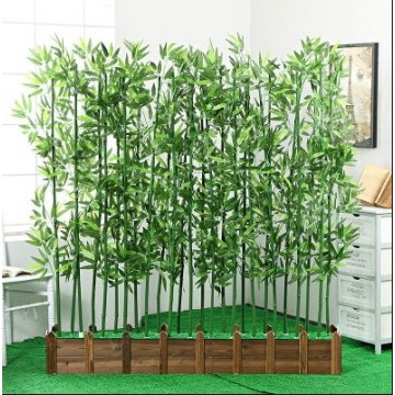 Zen artificial bamboo plants