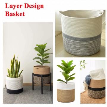 Layer Design Basket Plant Basket Room Basket