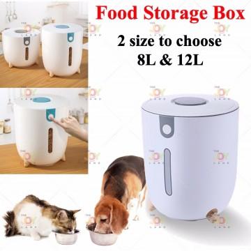 Pet food Storage Box 8L 12L