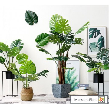 [ Monstera Series ] Large Artificial Plant /Tree/Flower For Home Decor