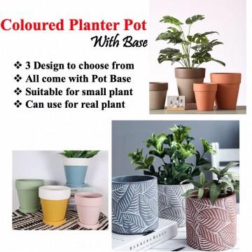 [ Variety ] Coloured Planter Pot