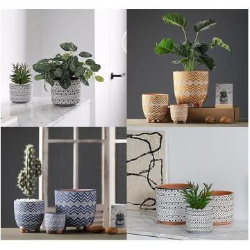 Artistic Plant Pot Ceramic Pot Planter Pot Gardening Home Decoration