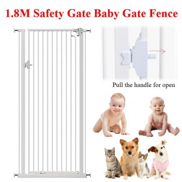 1.8m Authentic ChildStar Safety gate Baby Gate Fence Pet Gate Playpen Auto Close Gate Door Gate Multi-Purpose Gate No Drilling