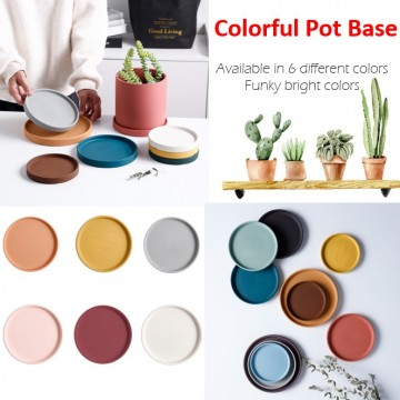 Colorful Pot Base ONLY